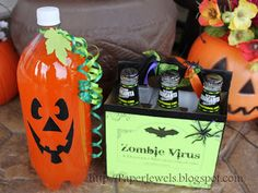 Paper Jewels and other Crafty Gems: Simple and Spooky Halloween Party Drinks