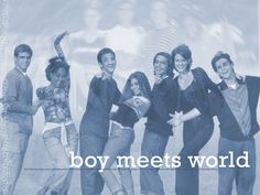 Boy Meets World. I miss this show it was so funny