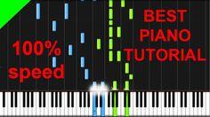 A Great Big World ft Christina Aguilera - Say Something piano tutorial