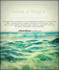Surah al- Waqi'a