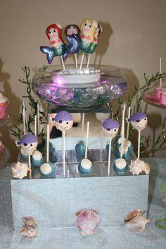 The Baking Bar Mermaid Cake Pop Lagoon