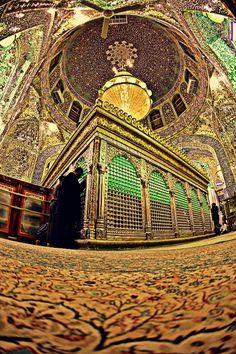 Inside shrine of Imam Ali [as]