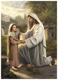 In His Constant Care (5x7 Print) - Deseret Book