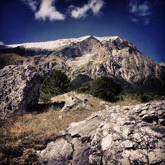 Il Monte Vettore visto da #Pretare #terredelpiceno #marchetourism #destinazionemarche #piceno #picenopass #marche