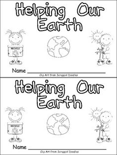 Earth Day Emergent Reader :)