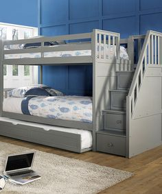 Bunk Bed With Storage il_fullxfull.714190220_m0su (1500×1500) | ideas para el hogar