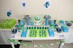 Monsters inc party for more party ideas visit www.littlepartylove.com.au
