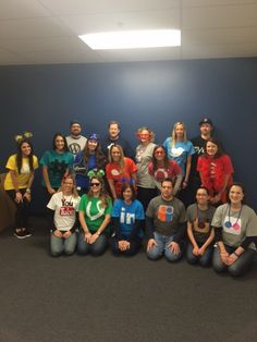 Our Marketing Communications team got in the #Halloween spirit by dressing up as #socialmedia networks for our annual costume contest! #CTCTlife How does your business celebrate Halloween?