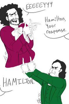 hamilton fan art - Google Search