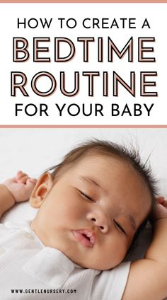 While it may seem pointless to create a bedtime routine for your new baby knowing it will change fairly quickly, even a newborn can create positive associations through a routine. Remember that you are laying the foundation for your childs future sleep habits. As your baby stays awake for longer stretches during the day, takes regular naps and sleeps longer throughout the night, sticking to a bed time every night becomes incredibly useful. My BEST tips for Baby Sleep on the Blog Routine For Newborn, Bedtime Routine Baby, Baby Sleep Schedule, Baby Skin Care, Baby Care, Baby Tips, Baby Hacks, Sleep Train Newborn, Formula Feeding Newborn