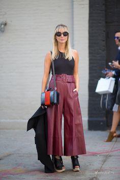 New York Fashion Week Spring-Summer 2016: street style: Moda Gid waysify
