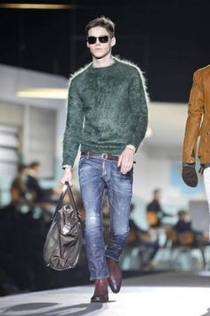 Dsquared2 Fall 2012  Sweater and jeans