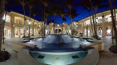 Evening at The Shops at Wailea, Maui, Hawaii ...