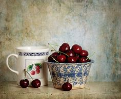 https://flic.kr/p/v4Q4HL | cherry on | Keep calm, and cherry on!  Texture: Clive Sax  To Be Still group - Third Place Winner - March/April Challenge ~ Show me this and that Still Life   This, and all my photographs are copyrighted and may not be used anywhere, including blogs, without my express permission.