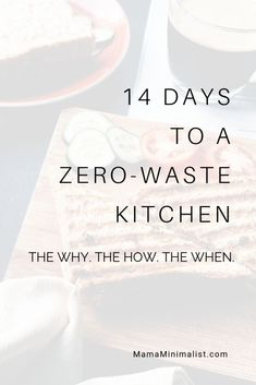 Zero-waste kitchens are absolutely possible! Here's your personalized roadmap to an eco-friendly kitchen in just 14 days. One-on-one coaching included! Fixer Upper, Recycling, Waste Reduction, How To Stay Motivated, Zero Waste, Reduce Waste, Sustainable Living, Sustainability, Eco Friendly