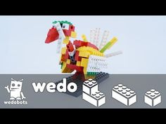 wedobots: LEGO® WeDo designs for the busy teacher: Playful Turkey Video Instructions!