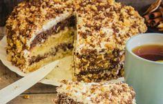 A tejfölös torta egyszerű receptje, ami aaannyira finom volt, de annyira! - Bidista.com - A TippLista! Baking And Pastry, Cheesecakes, No Bake Cake, Tiramisu, French Toast, Ale, Yummy Food, Sweets, Cooking