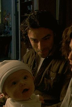 I Hate Aidan Turner: Here we have a baby, and then a smaller baby with a bonnet.