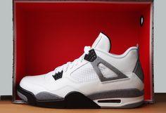 Jordan IV White Cement