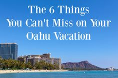 Best things to do on Oahu