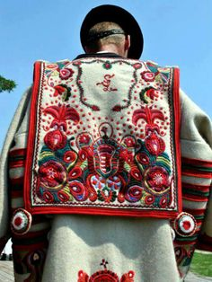 The Cifraszűr, or decorated greatcoat that is so much a part of most regional dress.