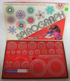 Spirograph - loved mine, until I lost some of the pieces