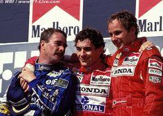 Mansell.  Senna.  Berger
