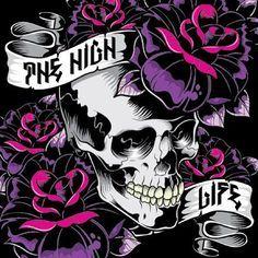 tattoo glow in the dark about Skull Tattoo Design, Skull Design, Compass Tattoo, Skull Wallpaper, Pattern Wallpaper, Sassy Wallpaper, Tattoo Fairy, Skeleton Art, Skeleton Makeup