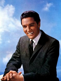 Elvis, love his smile.