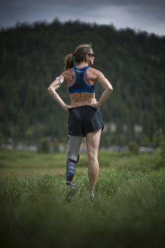 runner - sports - inspiring amputees