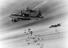 Boeing B-29 bombing over Burma
