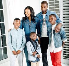The Wade Family, Gabrielle and Dwayne Wade