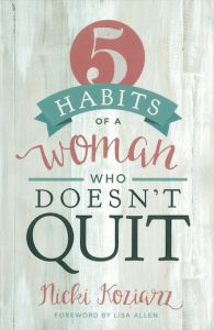 5 Habits Book – Are You A Quitter? via Debbie Williams   #bookwishlist