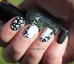 Faux Fur / Animal Print nails by Rachos Nail Love