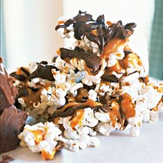 Turtle Corn - This milk-chocolate-and-caramel-covered popcorn treat is a hit with customers at Riverside Sweets in St. Charles, Mo., along the Missouri Wine Trail.