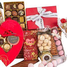 valentines day baskets uk