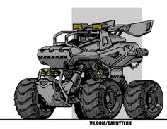 cars, trucks and two bicycles Robot Concept Art, Environment Concept Art, Concept Cars, Futuristic Motorcycle, Futuristic Cars, Military Drawings, Fantasy Art Landscapes, Aircraft Design, Car Drawings