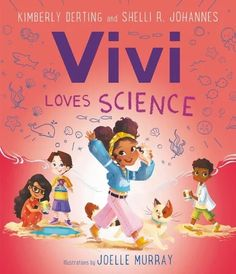 Vivi loves science! In this STEM-themed picture book, part of a series about girls who love science, Vivi and her classmates go on a field trip to the ocean to investigate tide pools. A must-have for fans of Rosie Revere, Engineer and What Do You Do with an Idea? and anyone who loves to ask questions and learn about the world. Features a glossary and fun tide pool activity to do a home. National Book Store, Pool Activities, Science Illustration, Tide Pools, Science Books, Science And Technology, Books To Read, Reading Books, Book Format