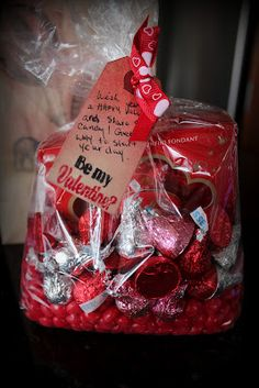 Valentine Gift- Bags of candy