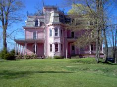 Pink Mansion | New Berlin, NY : The Pink House , New Berlin, New York photo, picture ...