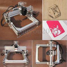 500mW 17x22cm Desktop DIY Laser Engraving Cutting Machine Picture CNC Printer #Ouyou2010