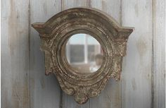Our French inspired handcrafted wall mirror is a wooden mirror with beautiful embellishments. Use this distressed two tone mirror in any room to add simple radiance. For more visit, www.decorsteals.com OR www.facebook.com/decorsteals