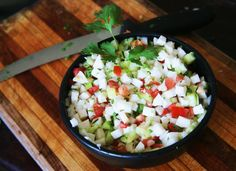 Simple good recipe! Vegetarian coconut ceviche @Homegrownandhealthy