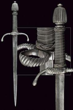 A left-hand dagger, Europe , 1600.
