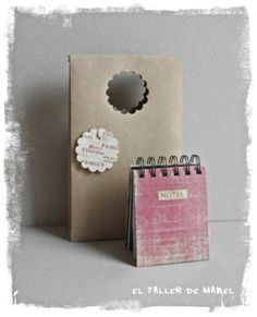 Rosa vintage Place Cards, Place Card Holders, Notes, Vintage, Brown Bags, Bag Packaging, Paper Envelopes, Holiday Gifts, Crates
