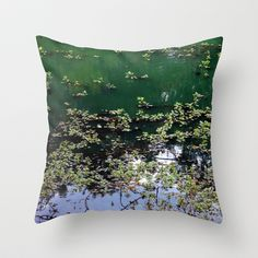Afternoon+At+The+Pond+Throw+Pillow+by+Stacy+Frett+-+$20.00