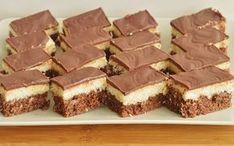 prajitura-bounty-5 Romanian Food, Food Cakes, Candy Buffet, Nutella, Cake Recipes, Cheesecake, Coconut, Ice Cream, Ethnic Recipes