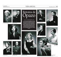El 30 de marzo, el diario EL Mercurio también destacó a la Biblioteca Nacional. En esta ocasión fue a través de los retratos de Fondo Opazo de su Archivo Fotográfico.