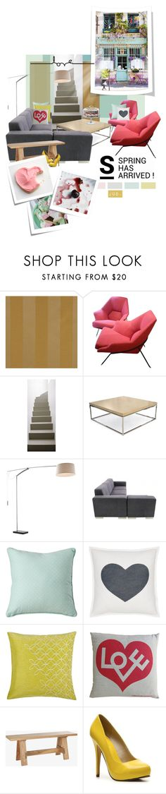 """Let me be your..."" by judaya ❤ liked on Polyvore featuring interior, interiors, interior design, home, home decor, interior decorating, 1Wall, Mitchell Gold + Bob Williams, Royal Albert and Blissliving Home"