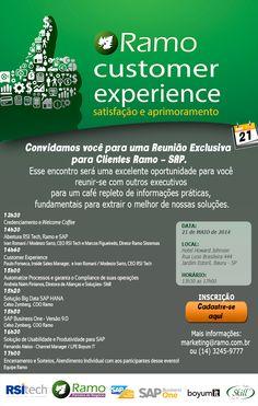 Evento exclusivo em Bauru para clientes SAP promete aprimoramento e excelentes oportunidades para a sua empresa.